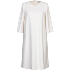 《期間限定セール開催中!》AGNONA レディース ミニワンピース&ドレス ホワイト 42 ウール 98% / ポリウレタン 2%