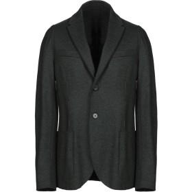 《期間限定セール開催中!》HARRIS WHARF LONDON メンズ テーラードジャケット ダークグリーン 50 ウール 100%