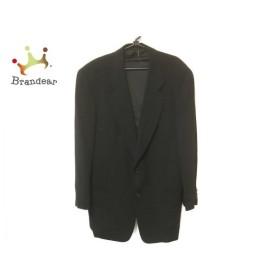 ジョルジオアルマーニ GIORGIOARMANI ジャケット サイズ50 M メンズ 黒 肩パッド  値下げ 20190903