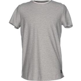 《期間限定セール開催中!》ANERKJENDT メンズ T シャツ グレー XL コットン 50% / ポリエステル 50%