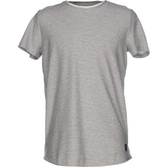 《セール開催中》ANERKJENDT メンズ T シャツ グレー XL コットン 50% / ポリエステル 50%