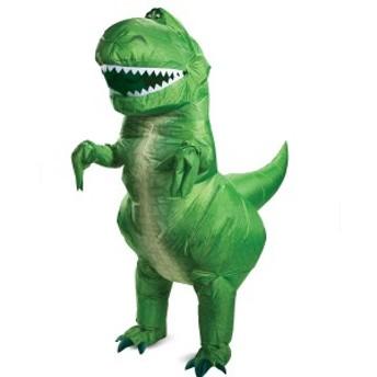 送料無料 トイストーリー4 レックス恐竜 仮装 大人用 衣装 コスプレ ハロウィン ディズニー Disney Toy Story 4