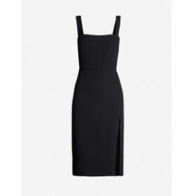 リフォーメーション REFORMATION レディース ワンピース ワンピース・ドレス Christina crepe midi dress Black