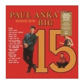 Paul Anka / Paul Anka Sings His Big 15 (180グラム重量盤レコード / DOL)  〔LP〕