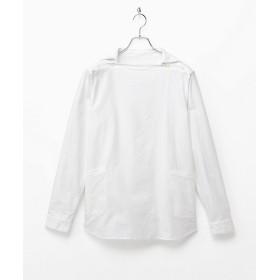 【SALE(伊勢丹)】<nisica/ニシカ> デッキマンシャツ WHITE【三越・伊勢丹/公式】
