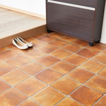 ベルーナインテリア 掃除がしやすい玄関シート テラコッタ 約182×150cm