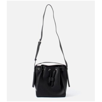(AZUL BY MOUSSY/アズールバイマウジー)GATHER 2WAY BAG/レディース BLK