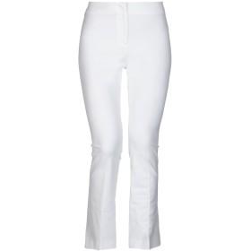 《セール開催中》QL2 QUELLEDUE レディース パンツ ホワイト 40 コットン 95% / ポリウレタン 5%