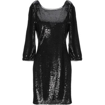 《セール開催中》PATRIZIA PEPE レディース ミニワンピース&ドレス ブラック 0 ポリエステル 100%