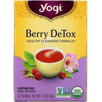 液果による解毒(Berry DeTox), カフェインフリー, 16ティーバッグ, 1.12オンス(32 g)