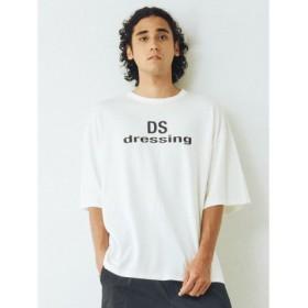 (COTORICA./コトリカ)DSプリントTシャツ/メンズ オフホワイト