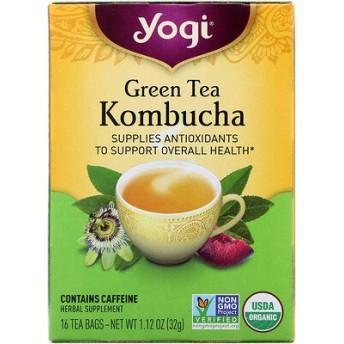 緑茶コンブチャ, 16ティーバッグ, 1.12oz(32 g)