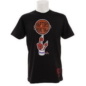 【Super Sports XEBIO & mall店:スポーツ】PLAYOFF Tシャツ ラプターズ BMTRCW19157-TRABLCK