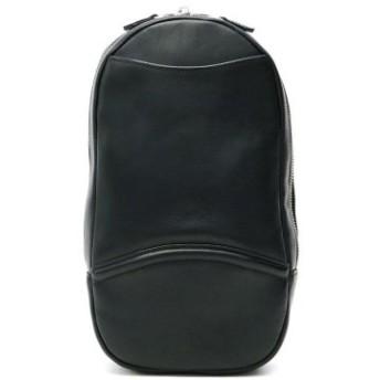 (GALLERIA/ギャレリア)ファイブウッズ FIVE WOODS ボディバッグ PLATEAU プラトウ 本革 レザー タテ型 ショルダー ワンショルダーバッグ 39184/メンズ ブラック 送料無料