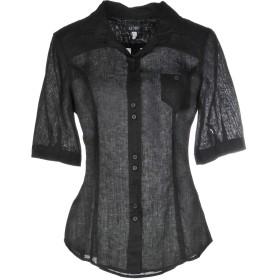 《セール開催中》ARMANI JEANS レディース シャツ ブラック 40 100% 麻