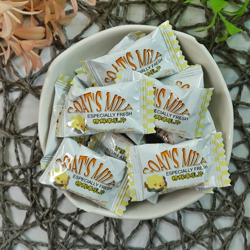 鄉春特鮮羊乳片 500g(約150顆)【2019040931011】(馬來西亞糖果)