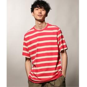 [マルイ] メンズTシャツ(POP TRADING COMPANY / ポップトレーディングカンパニー BIG STRIPE Tシャツ)/ジャーナルスタンダード レリューム(メンズ)(JOURNAL STANDARD relume)