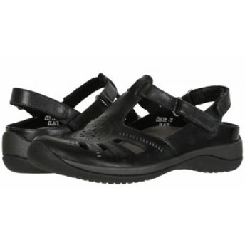 Earth アース レディース 女性用 シューズ 靴 サンダル Curie Black Soft Calf【送料無料】
