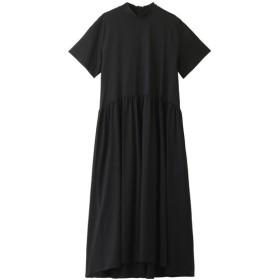 LE CIEL BLEU ルシェルブルー ジャージーボリュームドレス ブラック