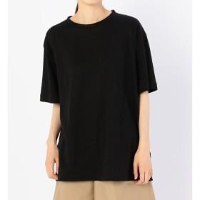 【ビショップ/Bshop】 【unfil】フレンチリネン オーバーサイズTシャツ WOMEN