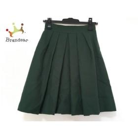 ジャスグリッティー JUSGLITTY スカート サイズ0 XS レディース グリーン   スペシャル特価 20191022
