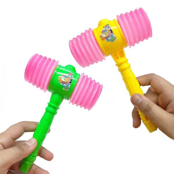 迷你嗶嗶槌 亮彩雙頭玩具槌 親子玩具響槌 團康遊戲 表演道具
