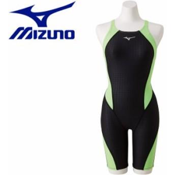 ミズノ エクサースーツ ハーフスーツ 練習水着 レディース N2MG827970 返品不可
