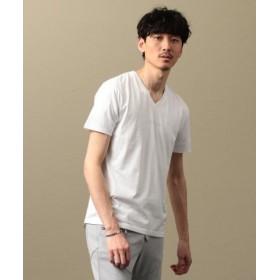 (LOVELESS/ラブレス)【LOVELESS】MEN Creative スワロロゴスビンTシャツ/メンズ オフホワイト