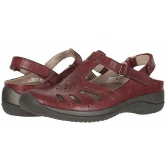 Earth アース レディース 女性用 シューズ 靴 サンダル Curie Bordeaux Soft Calf【送料無料】