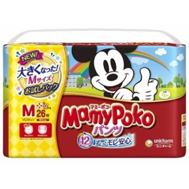 マミーポコ パンツ Mサイズ お試しパック(26枚入)[おむつ Mサイズ パンツ]