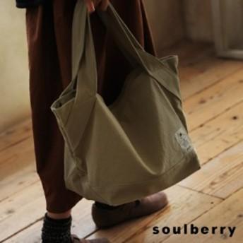 自然に寄り添うくったりフォルムのトートバッグ レディース キャンバス 帆布 肩掛け 手提げ A4対応 鞄