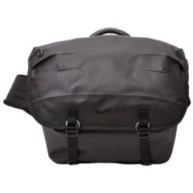 (Bag & Luggage SELECTION/カバンのセレクション)ワームデザインラボ メッセンジャーバッグ メンズ 小さめ 防水 worm design lab VBSF-4952/ユニセックス ブラック 送料無料
