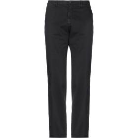 《期間限定セール開催中!》MANUEL RITZ メンズ パンツ ブラック 40 コットン 97% / ポリウレタン 3%