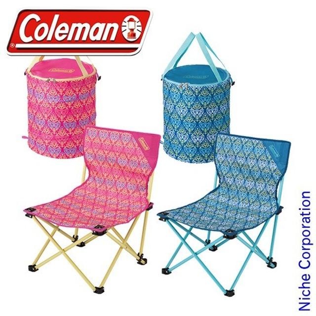 コールマン フォリッジ ポップアップボックス ファンチェア 4点セット キャンプ用品 ピクニック
