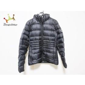 アバクロンビーアンドフィッチ ダウンジャケット サイズS レディース 黒 冬物/ジップアップ 新着 20190718