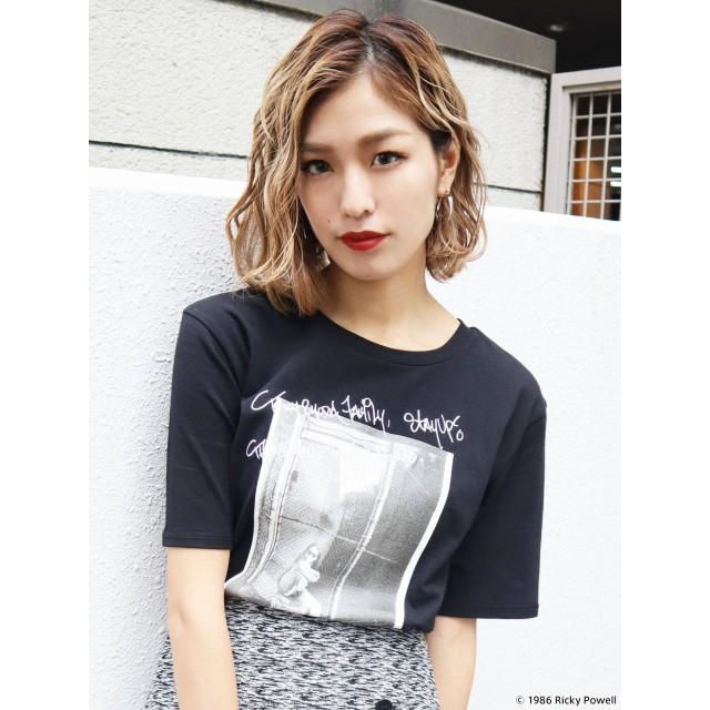 [EMODA]【EMODA×Ricky Powell】フォトグラフプリントTシャツ