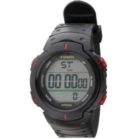 メンズ クレファー デジタル腕時計ウレタンモデルTS-D153-RD