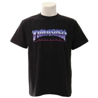 THRASHER 【オンライン限定特価】MIDNIGHT 半袖Tシャツ TH91228BK (Men's)