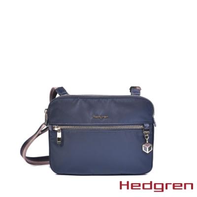 【Hedgren】CHARM貼身輕便 側背包-夜藍