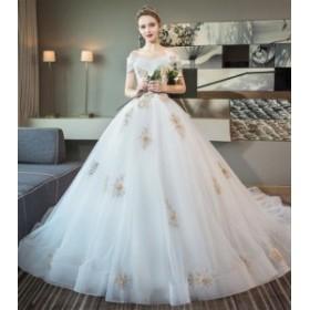 ウエディングドレス/ロングドレス/パーティードレス/披露宴ドレス/結婚式/二次会/花嫁/超可愛い/人気新品 WS-646