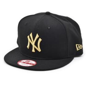 【Super Sports XEBIO & mall店:帽子】9FIFTY ニューヨーク・ヤンキース キャップ ブラック×ゴールド 11308473