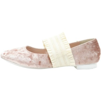 [merry jenny]fril band flat shoes