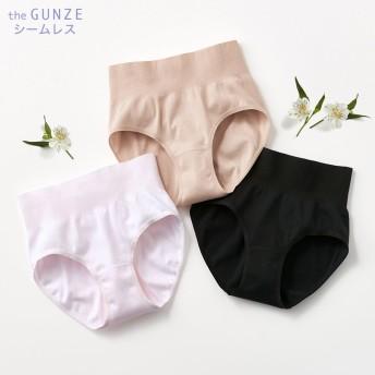 GUNZE グンゼ the GUNZE(ザグンゼ) 【SEAMLESS】レギュラーショーツ(レディース) ブラック M