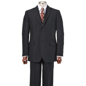 【紳士服】 洗えるアジャスター付フォーマルスーツ(シングル2つボタン+ツータックパンツ) フォーマルスーツ