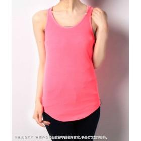 (IMPORT FASHION/インポートファッション)Top/レディース ピンク