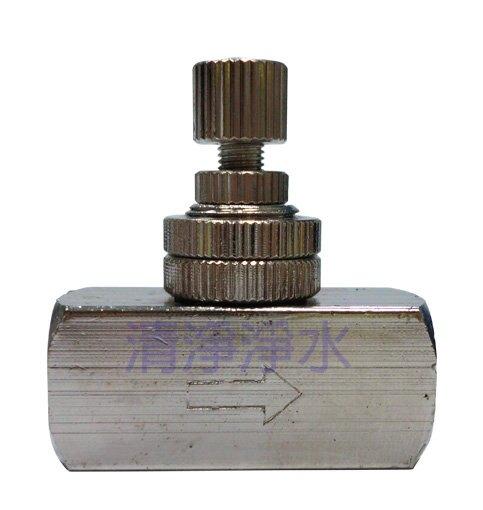 【大墩生活館】CYDA38-250金屬針閥 - 1/4NPT2分內牙進出口