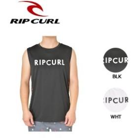 【RIP CURL】リップカール 2019春夏 MASCLE UV TEE メンズ ラッシュガード ラッシュタンク タンクトップ 海水浴 プール UVカット