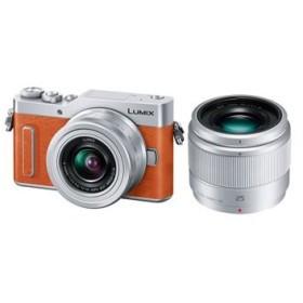 DC-GF10W-D パナソニック LUMIX ミラーレス一眼カメラ ダブルレンズキット オレンジ