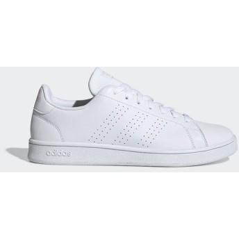 adidas(アディダス)シューズ その他カジュアル ADVANCOURT BASE EOT69 EE7692 ランニングホワイト/ランニングホワイト/ローホワイトS19