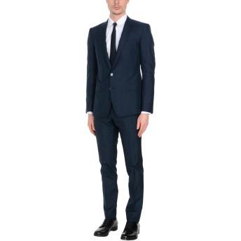 《セール開催中》DOLCE & GABBANA メンズ スーツ ダークブルー 54 シルク 100%